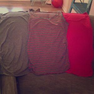 Three maternity tanks 😊❤️GUC